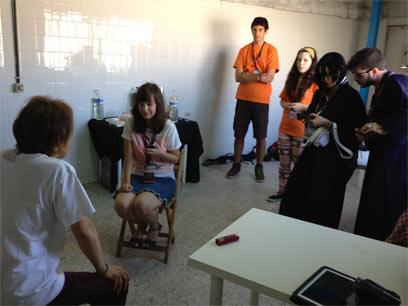 声優養成所で声優になるには!2013 JAPAN WEEKEND MADRID 堀川りょう9ラジオ局インタビュー
