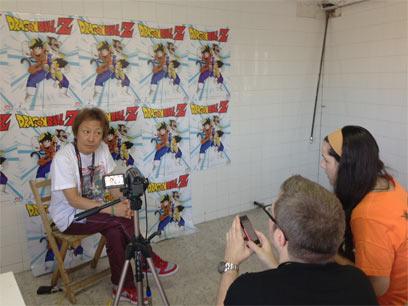 声優養成所で声優になるには!2013 JAPAN WEEKEND MADRID 堀川りょう スペイン版DB インタビュー
