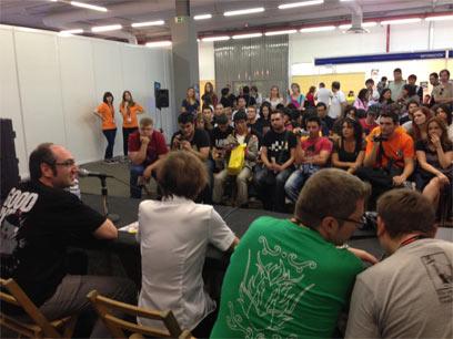 声優養成所で声優になるには!2013 JAPAN WEEKEND MADRID 堀川りょう スペイン版DB パネルディスカッション2