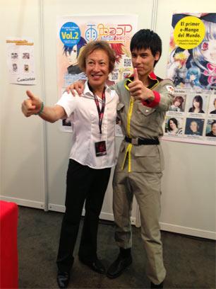 声優養成所で声優になるには!2013 JAPAN WEEKEND MADRID 堀川りょう 2回目サイン会3