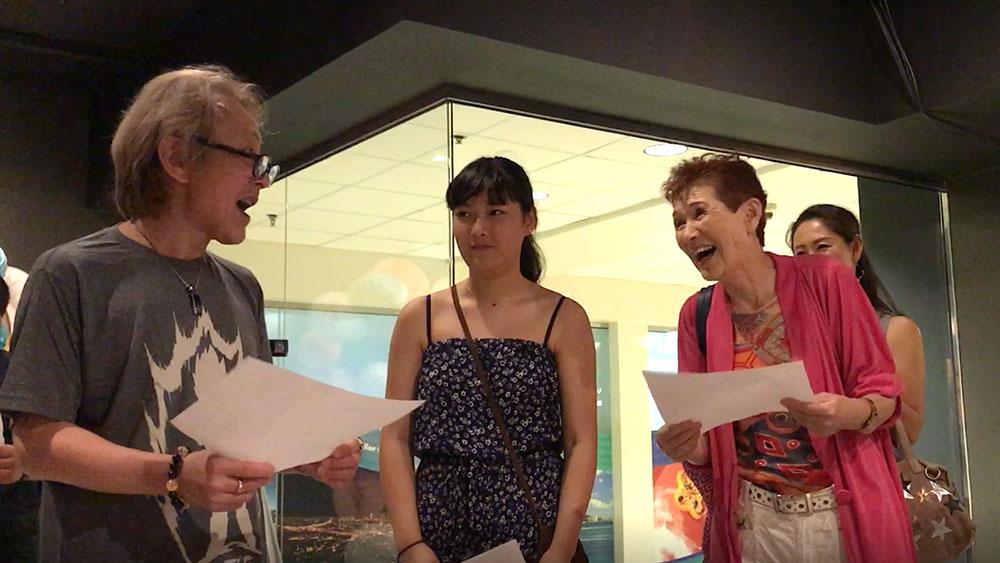 声優養成所で声優になるには!ハワイに声優養成所が開校!アフレコ実習の様子