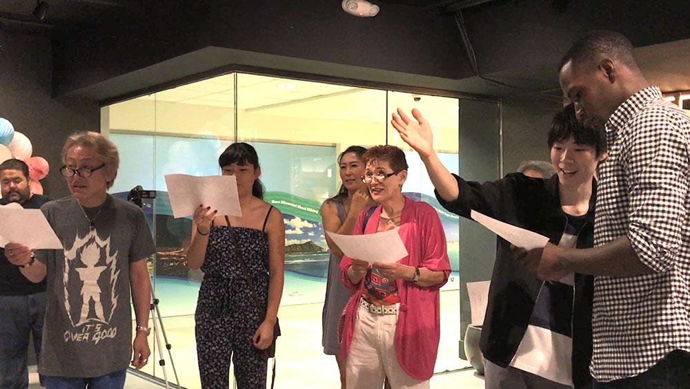 声優養成所で声優になるには!ハワイに声優養成所が開校!アフレコ実習本番