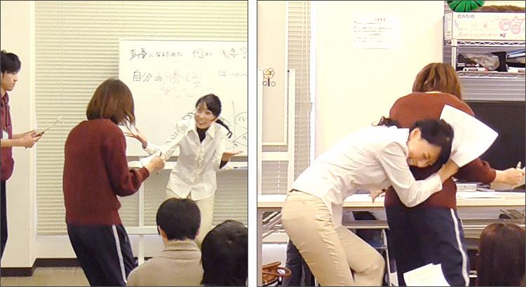 宮村優子先生が声優養成所の生徒を直接指導!宮村優子による、文字通りの体当たり指導
